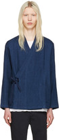 Blue Blue Japan Indigo Haori Shirt