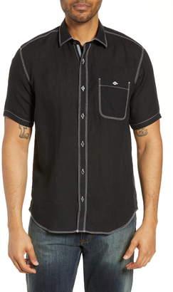Bugatchi Shaped Fit Cotton Shirt