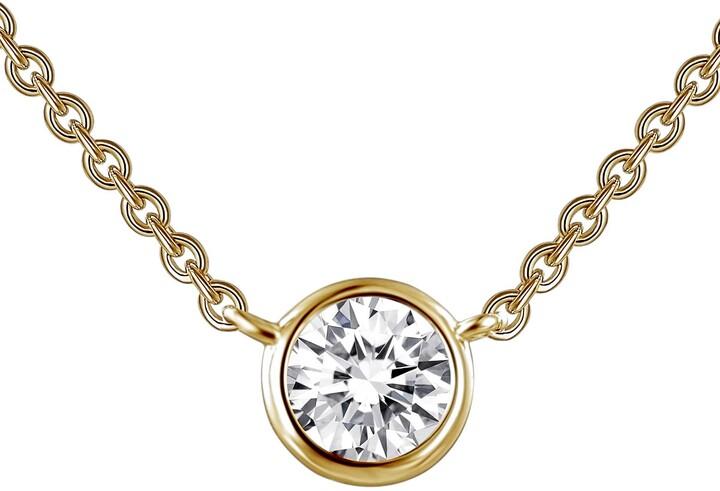 abee4ac5eb710 Simulated Diamond Pendant Necklace