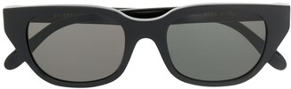 RetroSuperFuture Dark Wayfarer Sunglasses