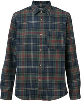 A.P.C. plaid shirt - men - Polyamide/Wool - M