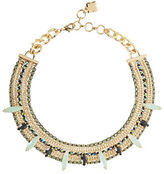 BCBGMAXAZRIA Stone Chain Necklace