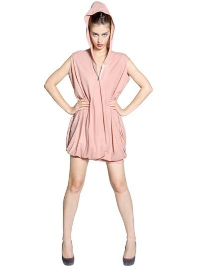 Kai-aakmann Soft Jersey Bubble Dress