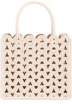 Alaia Garance Laser-Cut Leather Tote Bag