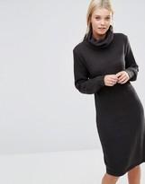 Brave Soul Ribbed Roll Neck Sweater Dress