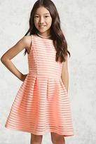 Forever 21 Girls Mesh-Paneled Dress (Kids)