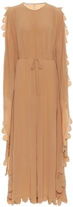Stella McCartney Bobbi silk crApe de chine jumpsuit