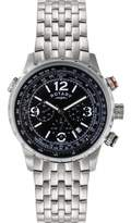 Rotary Men's Dial Stainless Steel Bracelet Chronograph Watch GB00323/04/L