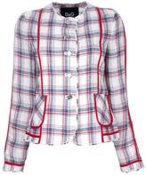 Dolce & Gabbana check blazer