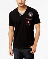 INC International Concepts Men's Layered V-Neck T-Shirt, Only at Macy's