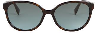 Fendi Havana Cat Eye Sunglasses