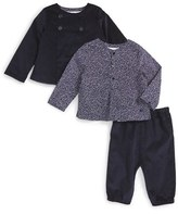 Burberry Infant Boy's 'Bradie' Jacket, Shirt & Jogger Pants Set