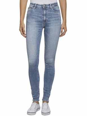 Tommy Jeans Women's HIGH Rise Skinny Santana ORL Straight Jeans