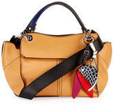 Proenza Schouler Curl Smooth Leather Satchel Bag