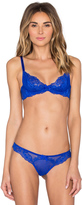 L'Agent by Agent Provocateur Rosella Non Pad Plunge Bra