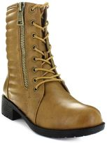 Seven7 Jerry Women's Quilted Moto Boots