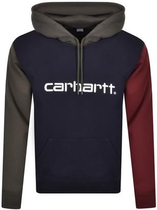 Carhartt Tricol Hoodie Navy