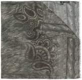 Etro animal print scarf
