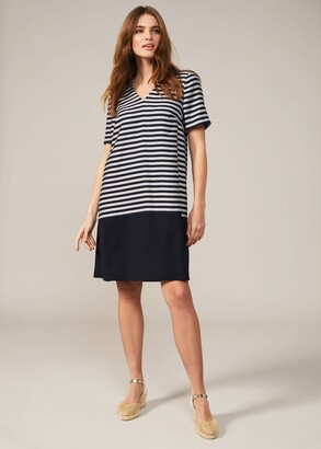 Phase Eight Milia Stripe Swing Dress
