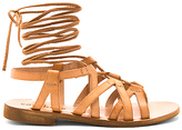 Cocobelle Cleo Sandals in Tan