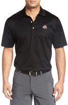 Peter Millar Men's 'Ohio State University' Solid Golf Polo