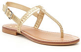 GB All-Access Woven Thong Sandals