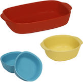 Corningware CW by 4-pc. Ceramic Bakeware Set