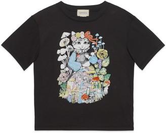 Gucci Children's Aquatique print T-shirt