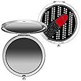 Sephora Compact Mirror -Crystal-Encrusted Lipstick, NEW! by
