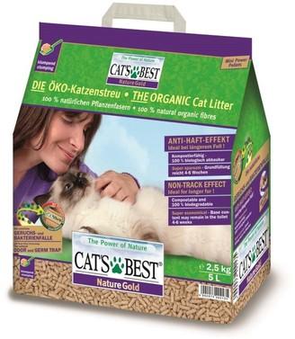 Cat's Best Nature Gold Cat Litter 5 Litre 2.5kg