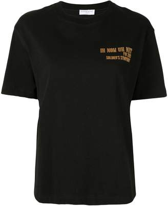 Ih Nom Uh Nit logo detail T-shirt