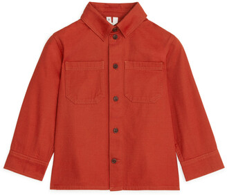 Arket Cotton Twill Overshirt