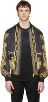 Versace Reversible Black coup De Dieu Jacket