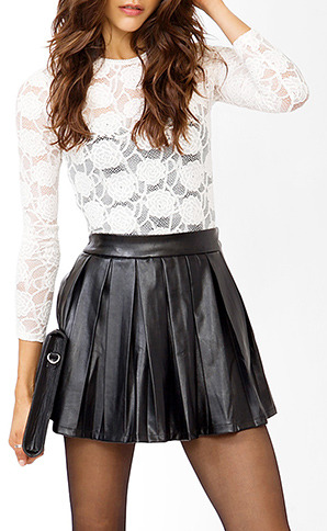 Forever 21 Floral Lace Top