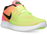 Nike Men's Free Run ULTD Running Sneakers from Finish Line
