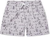 Frescobol Carioca - Freijo Short-Length Printed Swim Shorts