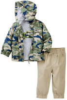 Little Me Camo 3-Piece Jacket Set (Baby Boys)