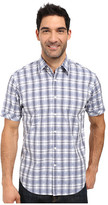 James Campbell Donegal Plaid Short Sleeve Woven