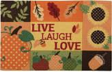 """Nourison Live Laugh Love 20"""" x 30"""" Accent Rug"""
