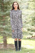 Shabby Apple B&W Snowflake Dress