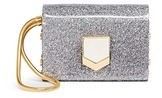 Jimmy Choo 'Lockett' glitter acrylic clutch