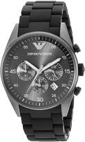 Emporio Armani Men's AR5889 Sport Chronograph Silicone Accent Dial Watch