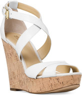 MICHAEL Michael Kors Sienna Strappy Wedge Sandals
