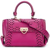 Salvatore Ferragamo Sofia internal clutch tote - women - Calf Leather - One Size