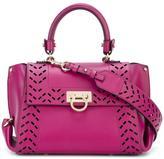 Salvatore Ferragamo Sofia internal clutch tote - women - Calf Leather - One Size