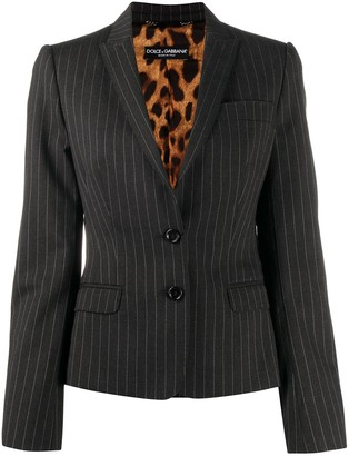 Dolce & Gabbana Pinstriped Blazer