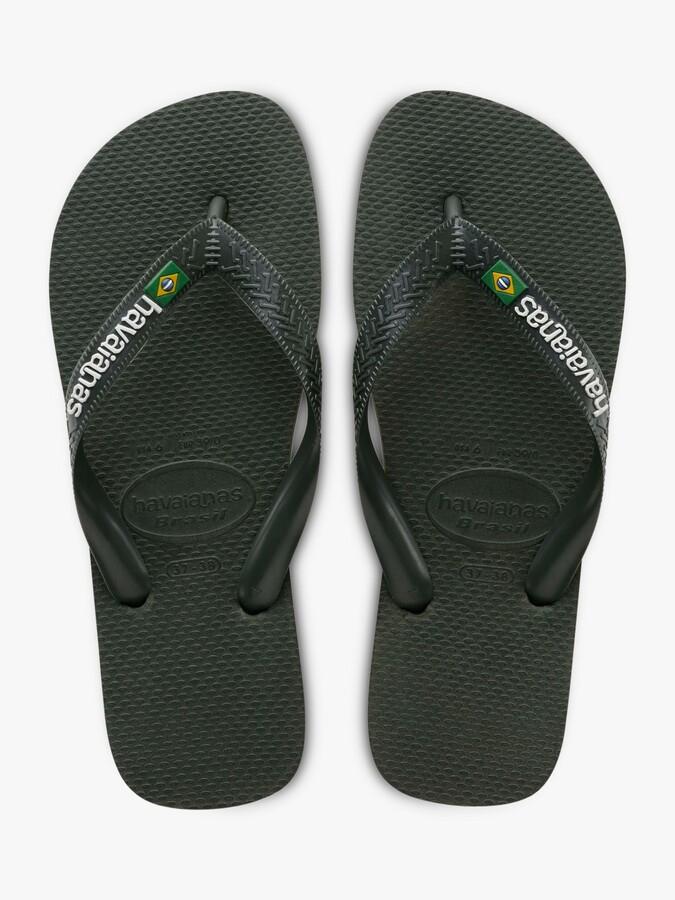 Thumbnail for your product : Havaianas Brasil Logo Flip Flops