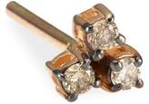 Kismet By Milka Diamond & 14K Rose Gold Single Stud Earring