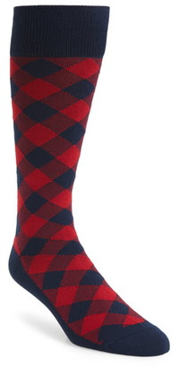 Nordstrom Ultrasoft Buffalo Check Socks