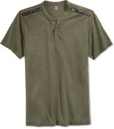 INC International Concepts Men's Ciao Shoulder-Zip Henley, Only at Macy's